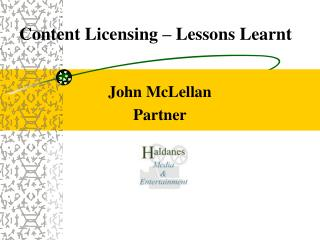 Content Licensing – Lessons Learnt