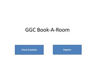 GGC Book-A-Room