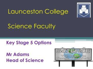 Launceston College Science Faculty