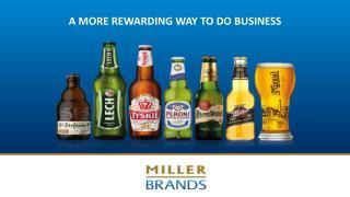 A  MORE REWARDING WAY TO DO BUSINESS