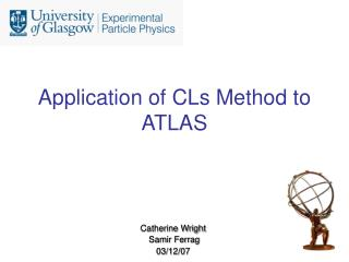 Application of CLs Method to ATLAS