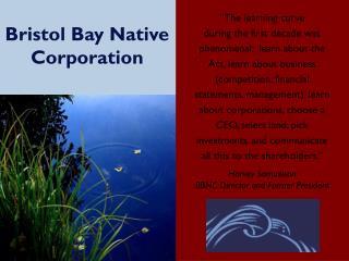 Bristol Bay Native Corporation
