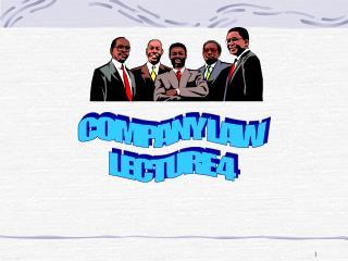 COMPANY LAW LECTURE 4