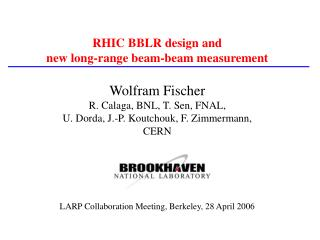 RHIC BBLR design and  new long-range beam-beam measurement