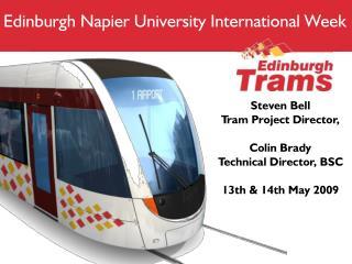 Edinburgh Napier University International Week