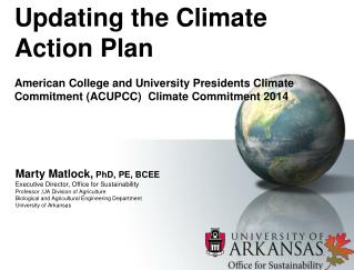 Updating the Climate Action Plan