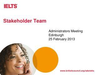Stakeholder Team