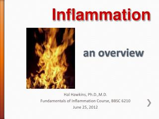 Inflammation an overview