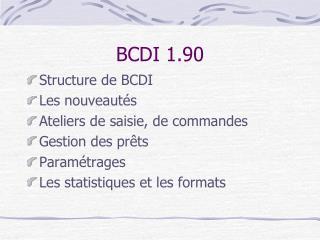 BCDI 1.90