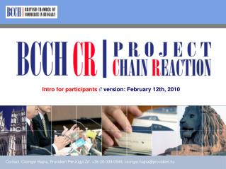 Intro for participants �// version:� February 12th , 2010