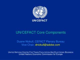 UN/CEFACT Core Components