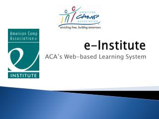e-Institute