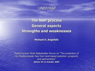 UNEP/MAP