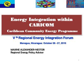 Energy Integration within CARICOM Caribbean Community Energy Programme