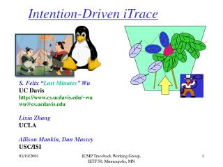 Intention-Driven iTrace