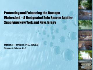 Michael Tamblin, P.E., BCEE Stearns & Wheler, LLC