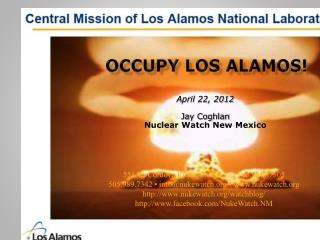 occupy Los Alamos!