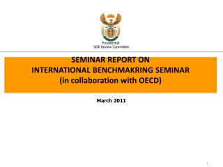 SEMINAR REPORT ON  INTERNATIONAL BENCHMAKRING SEMINAR (in collaboration with OECD)