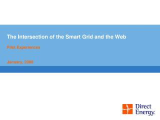 The Intersection of the Smart Grid and the Web