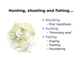 Hunting, shooting and fishing...