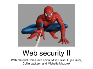Web Security   Part 3: SQL Injection