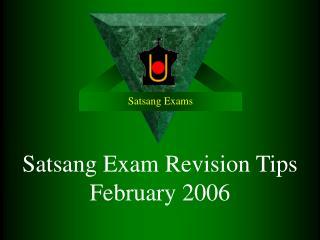 Satsang Exams