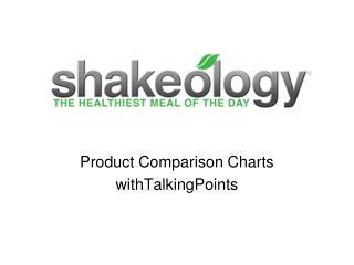 Product Comparison Charts withTalkingPoints