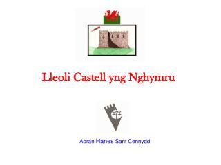 Lleoli Castell yng Nghymru