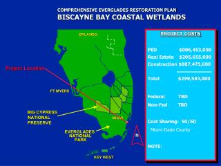 COMPREHENSIVE EVERGLADES RESTORATION PLAN BISCAYNE BAY COASTAL WETLANDS
