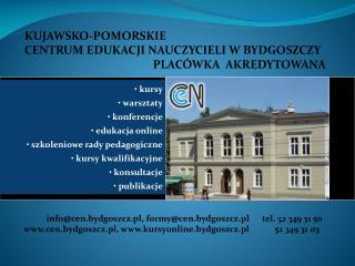 kursy  warsztaty  konferencje  edukacja online  szkoleniowe rady pedagogiczne