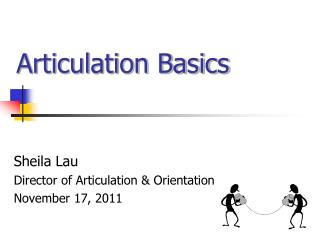 Articulation Basics