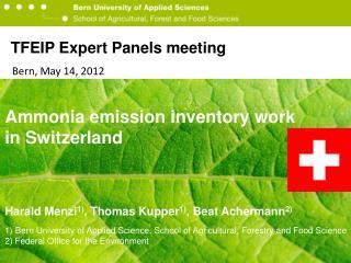 TFEIP Expert Panels  meeting