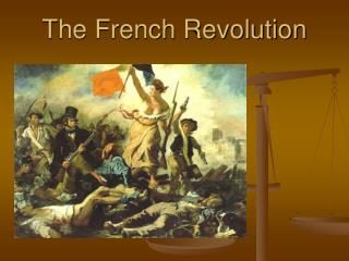 The French Revolution Pre-Revolutionary Period: People