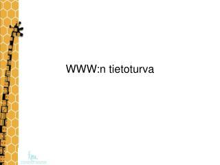 WWW:n tietoturva