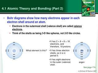 4.1  Atomic Theory and Bonding (Part 2)