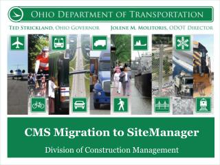CMS Migration to  SiteManager
