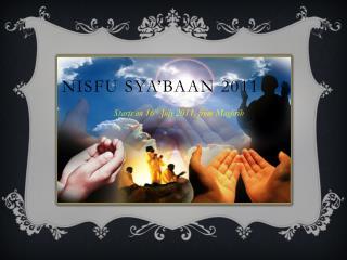 Nisfu Sya'baan  2011