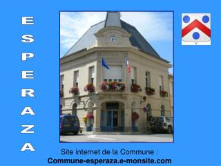 Site internet de la Commune :  Commune-esperaza.e-monsite