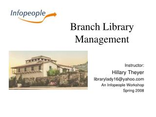 Branch Library Management