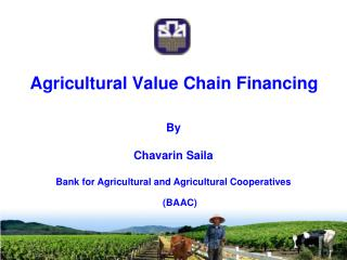 Agricultural Value Chain Financing