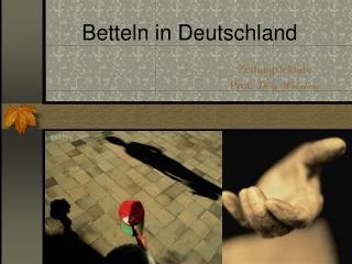 Betteln in Deutschland