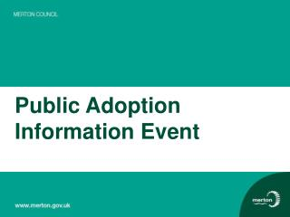 Public Adoption Information Event