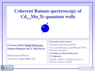 Coherent Raman spectroscopy of Cd1-xMnxTe quantum wells