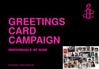 GREETINGS CARD CAMPAIGN
