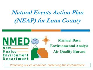 Natural Events Action Plan (NEAP) for Luna County