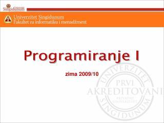 zima 2009/10