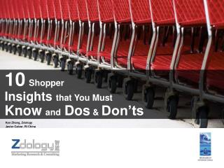 10 Shopper  Insights that You Must  Know and Dos  Don ts