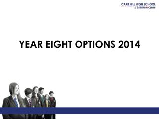 YEAR EIGHT OPTIONS 2014