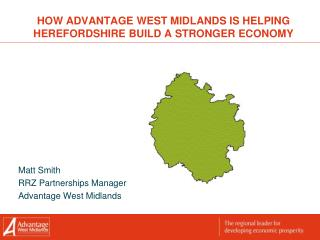 How Advantage West Midlands is helping Herefordshire build a stronger economy