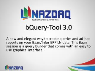 bQuery - Tool 3.0